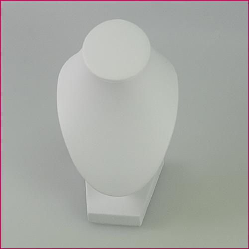 weiße Büste